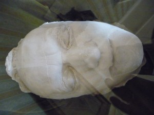 Wagner's death mask