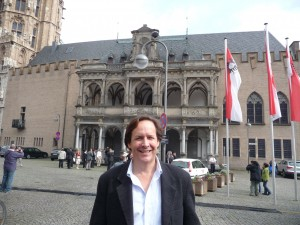 Mark Huggins at the Cologne Rathaus